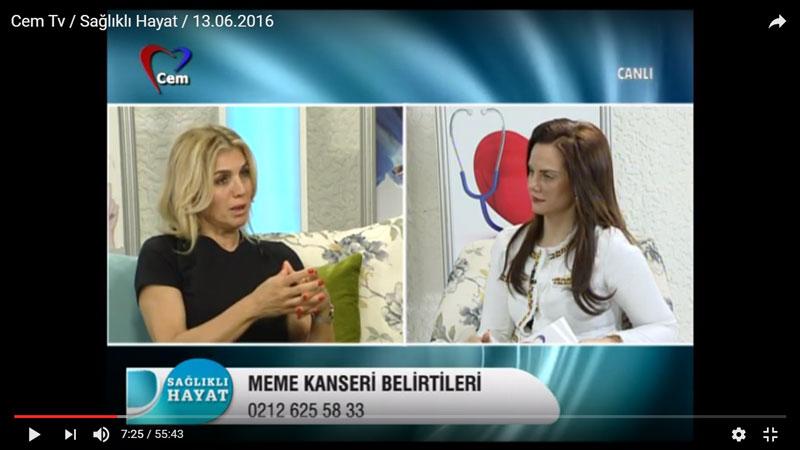 Cem Tv / Sağlıklı Hayat / 13.06.2016